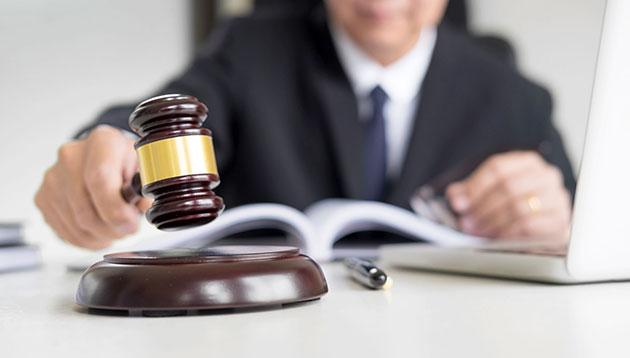 court judge - 123RF