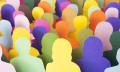 Colourful human figures