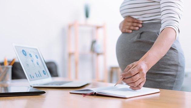 Pregnant professional