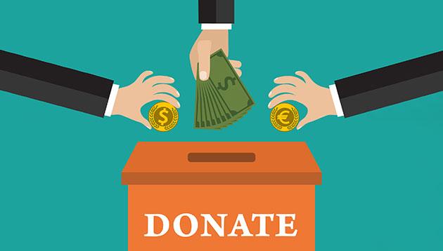 donate - 123RF