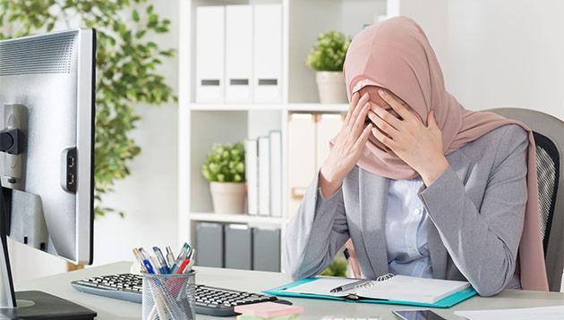 Depressed malaysian professional