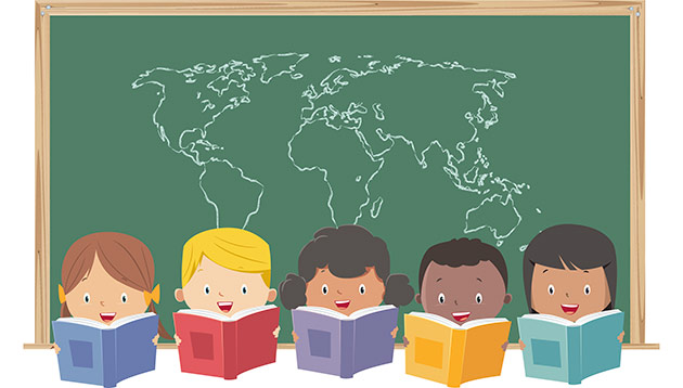 international school children - iStock