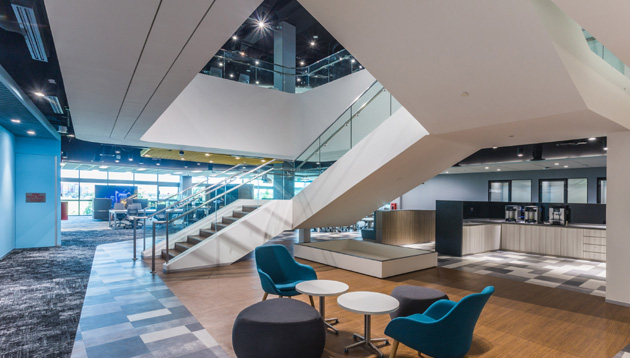 Photos] How Amgen's new office attracts the next generation