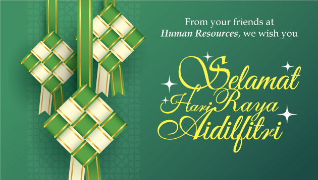 Our Best Wishes To You For Hari Raya Aidilfitri