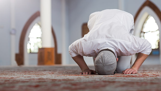final stage for guidelines on prayer times during work for muslim