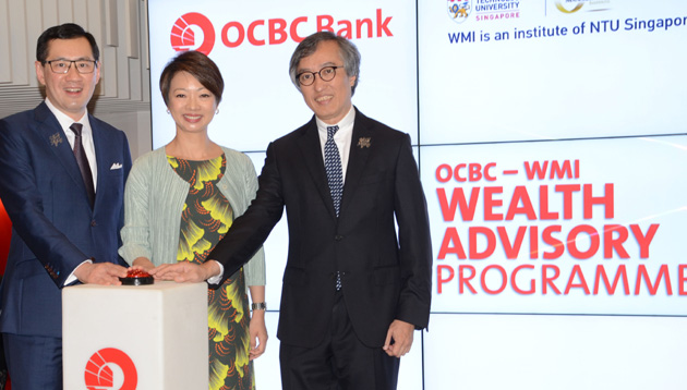 OCBC-WMI Wealth Advisory Programme launch photo