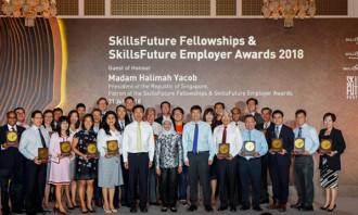 SkillsFuture employer group photo