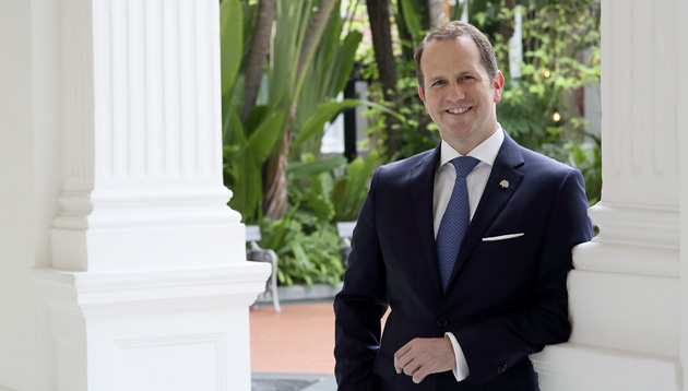 Suite Talk: Raffles Hotel Singapore's GM on how to be a