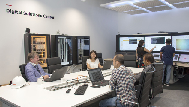 Abb Opens New Customer Innovation Centre In Singapore