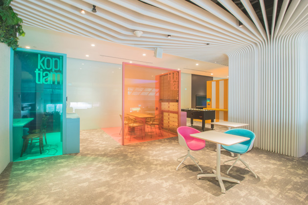 "Photos: A look into KPMG's newly revamped ""Clubhouse"" for"