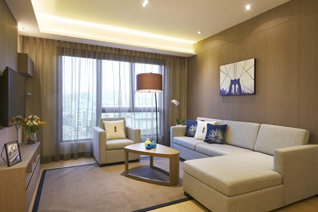 A 3-bedroom apartment at Oasia Residence, Singapore