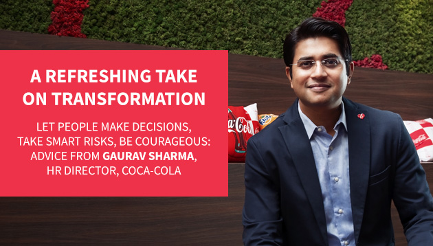 Q&A: Gaurav Sharma, HR director, bottling investment group