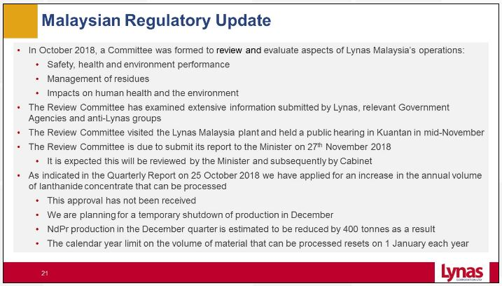Lynas-Malaysian-Regulatory-Update