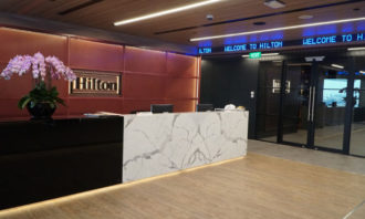 Hilton APAC HQ Reception