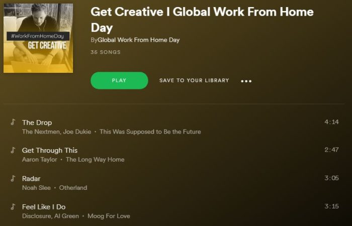 WorkFromHomeDay-Get-Creative