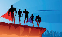 Superheros-against-a-skyline-iStock