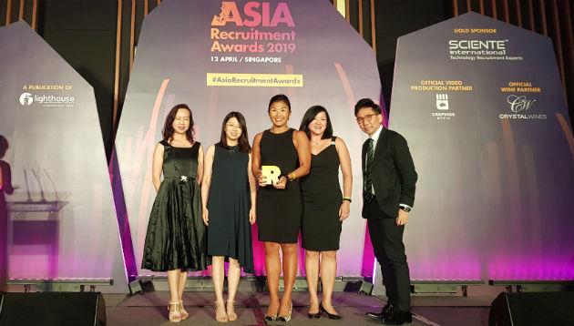 Live: Asia Recruitment Awards 2019, Singapore
