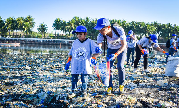 NEC Philippines makes a difference at Manila Bay | Human