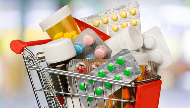 medicine-in-shopping-cart-123Rf