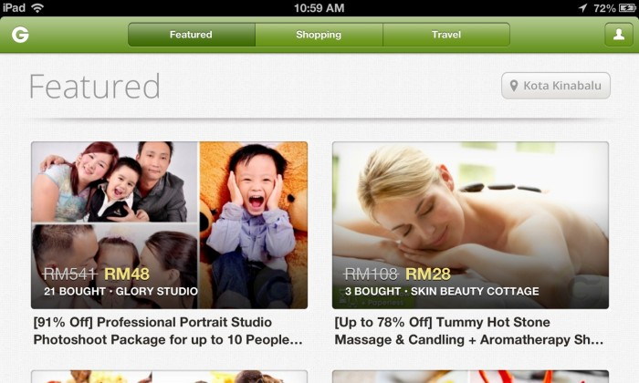 Groupon now available on iPad | Marketing Interactive
