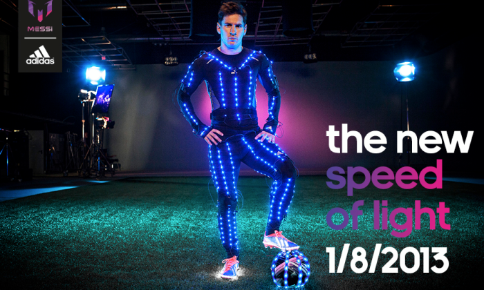 047ae951e4b1 Adidas explores speed and light with Messi