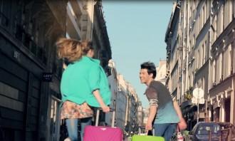 LOOK American Tourister Causes Mayhem In Paris   Marketing
