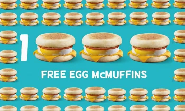 mcdonalds celebrates second national breakfast day marketing interactive - Mcdonalds Open Christmas Day 2014