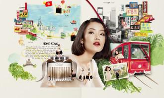 DFS Fall Winter 2014 Ad Visual Hong Kong