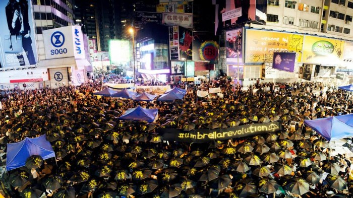 Taiwan Thorn In China S Side Gets New Attention: Ad Industry Continues To Support 'Umbrella Revolution