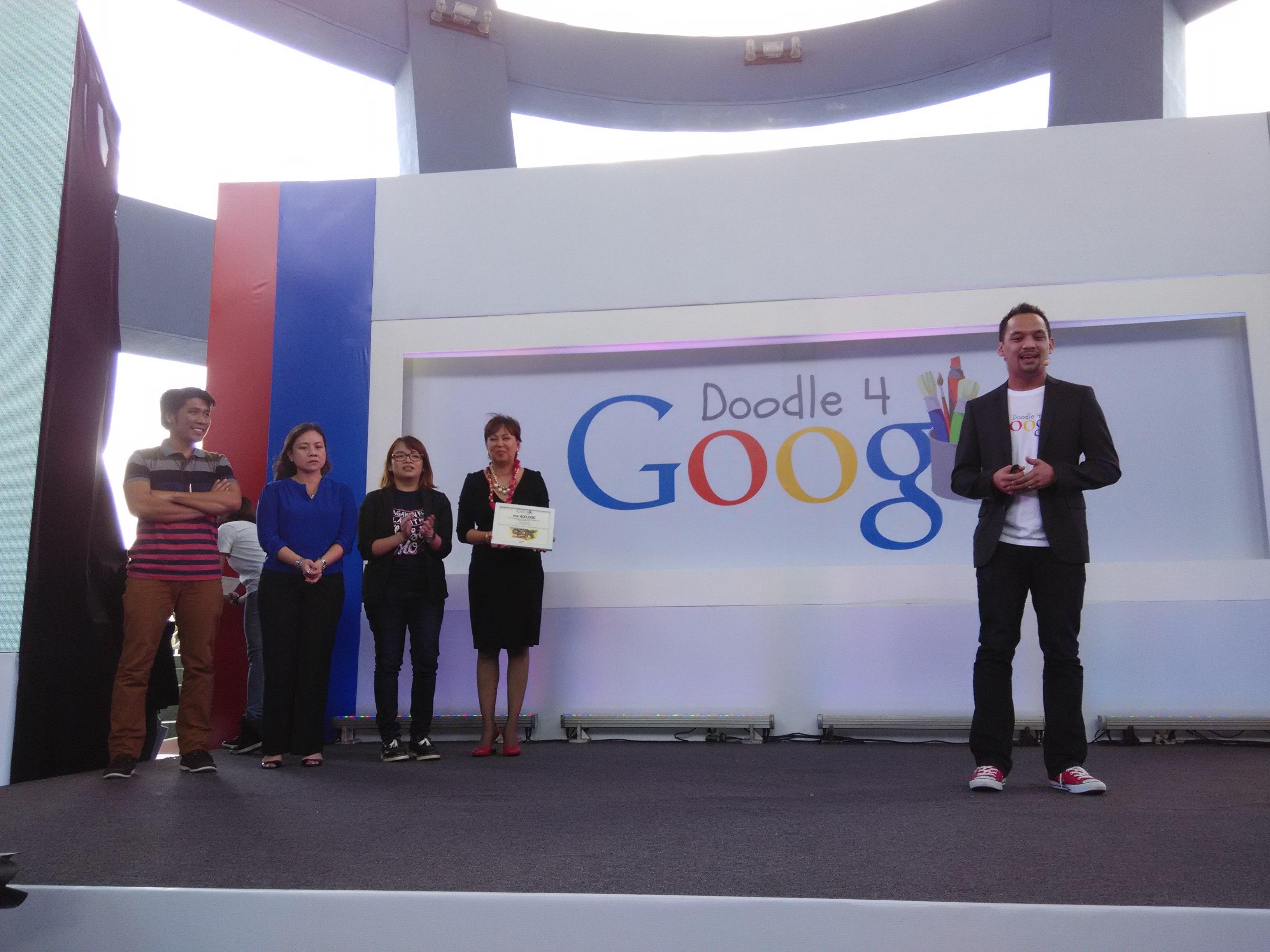 "LOOK First Doodle 4 Google winner ""Sari-Jeepney"" now live on"