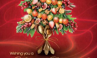 Cafe Deco Group Christmas Print Ad