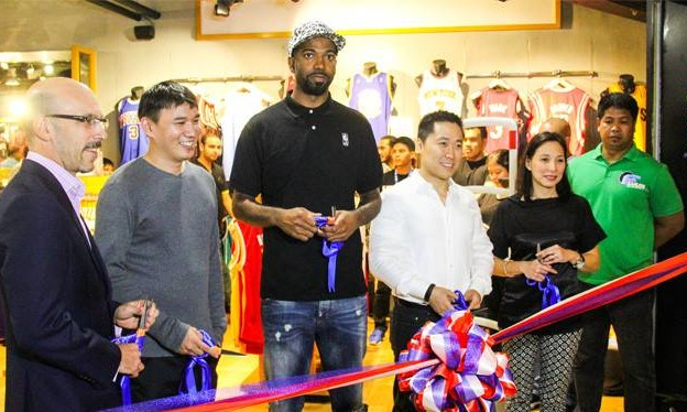 07303f37472a Largest NBA Store outside US opens in Manila