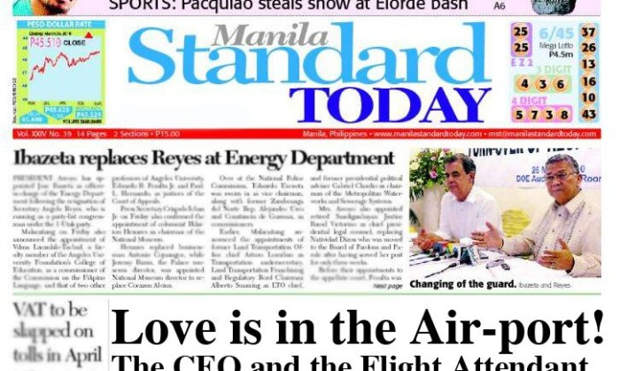 Manila Standard | Latest News in the Philippines