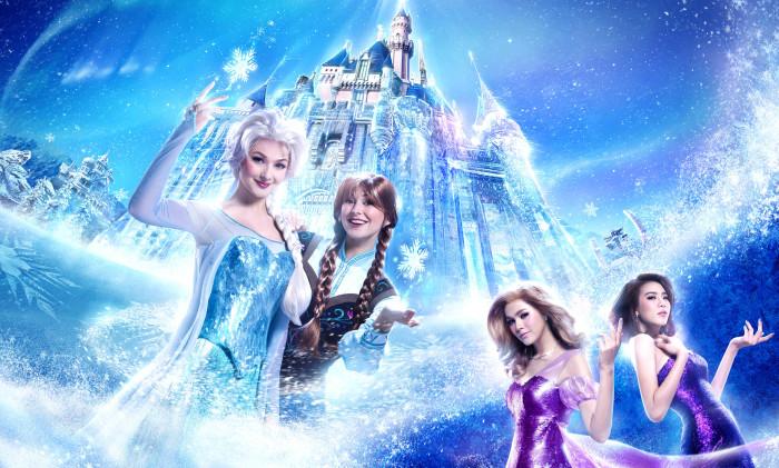 Hong Kong Disneyland Resort Frozen Party