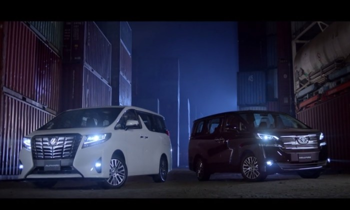 New Toyota spot aims to fight parallel imports of Alphard