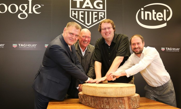 TAG Heuer, Google and Intel Announce Swiss Smartwatch Collaboration