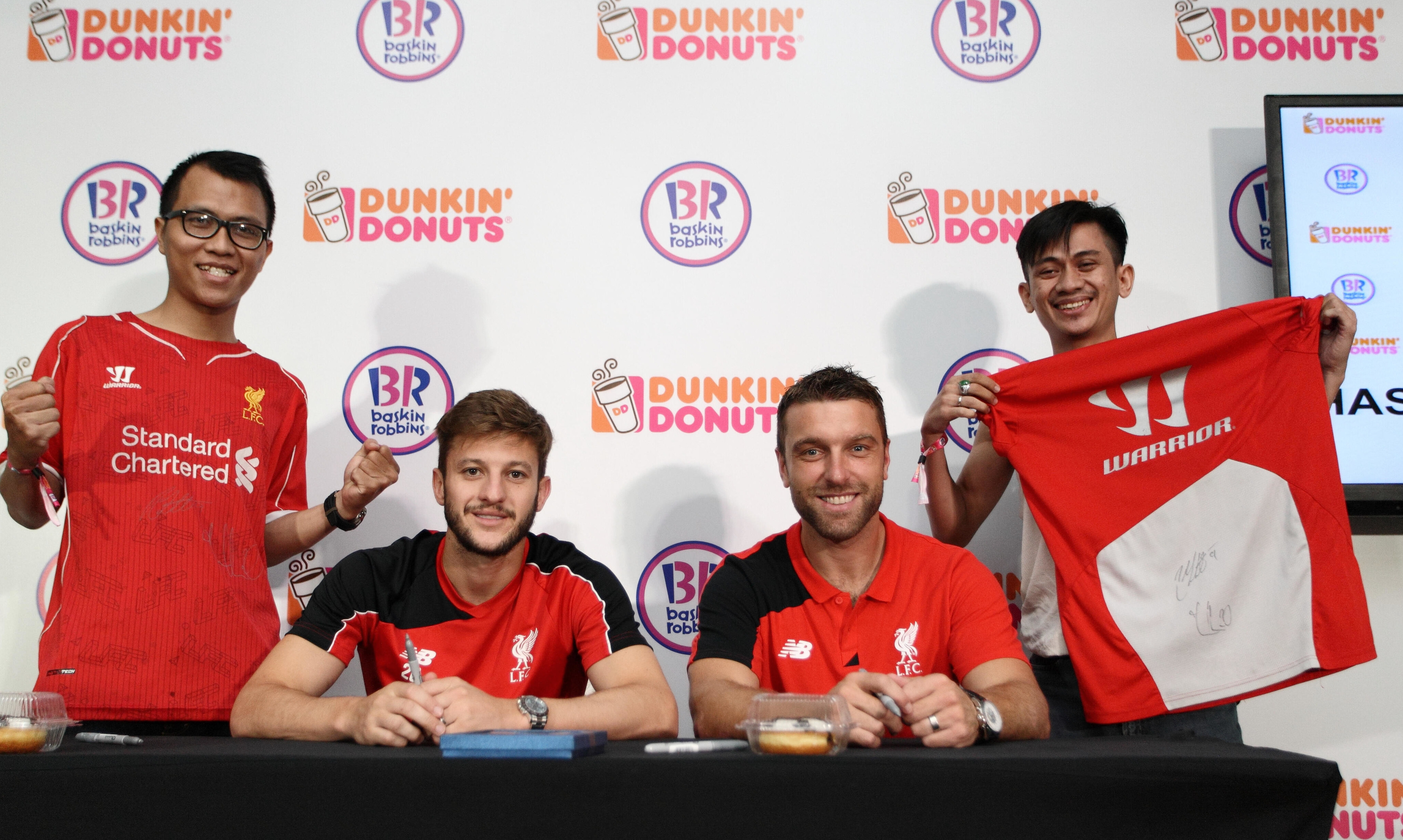 Malaysian Liverpool Fc Fans Get To Meet Their Favourite Players