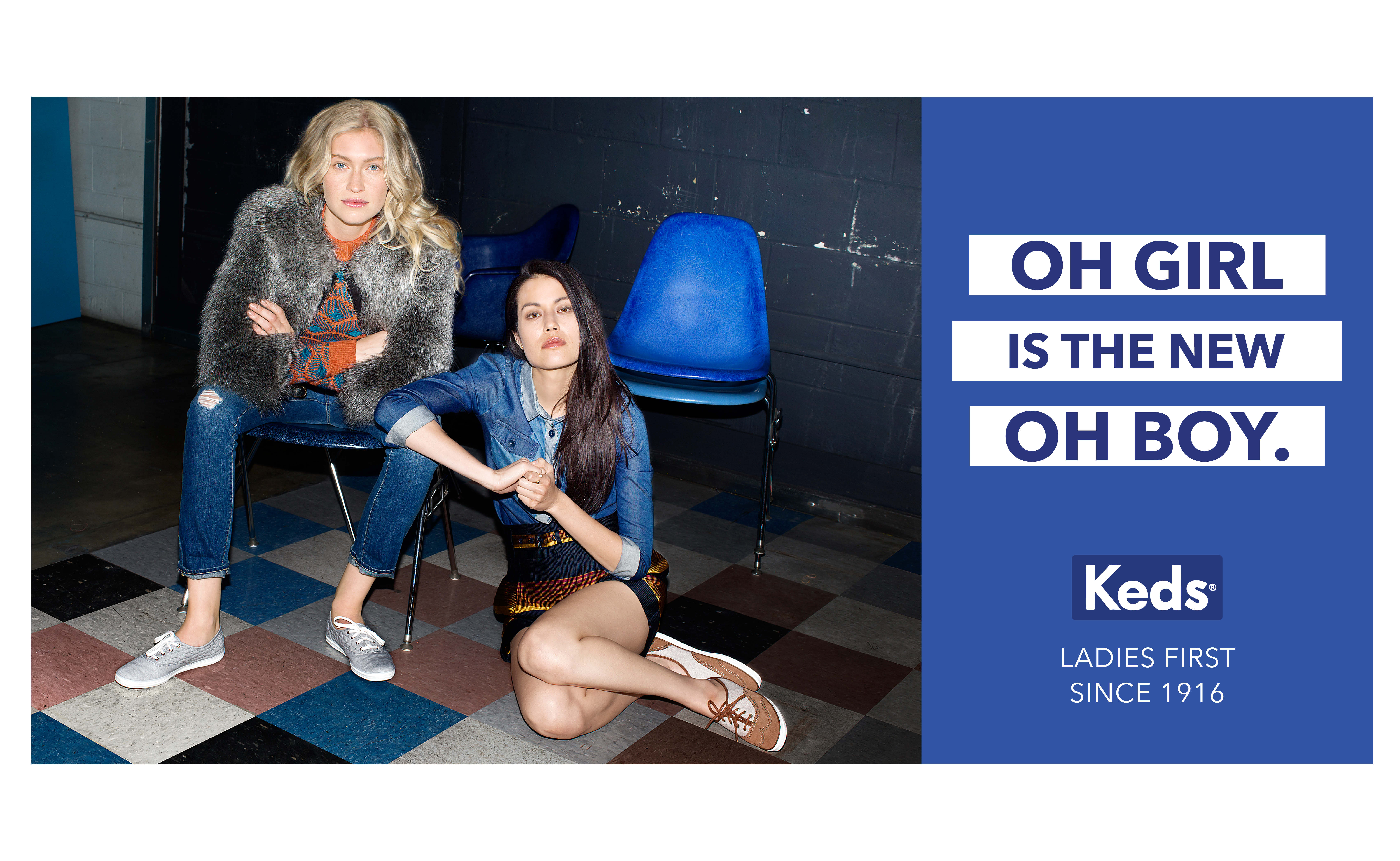 Keds gets Taylor Swift in Ladies First
