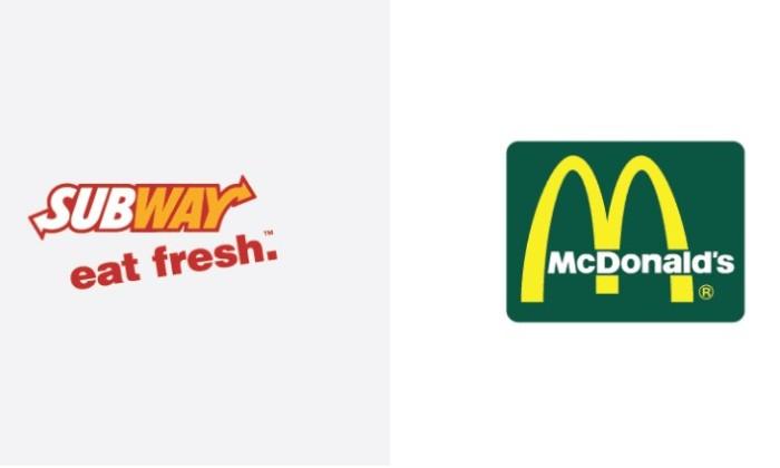 Logo swap: Can brands pull off looking like their