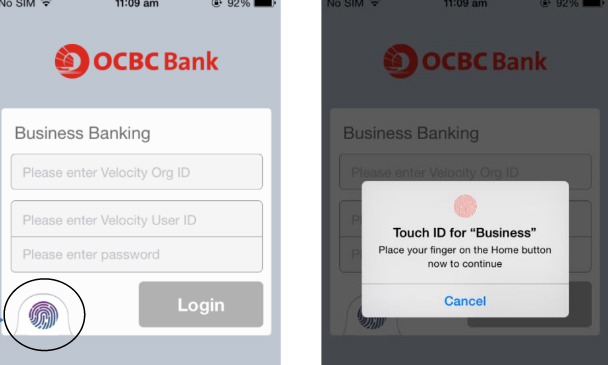 OCBC launches banking app with biometric authentication