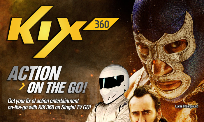 KIX 360 and Singtel TV offer action on the go | Marketing