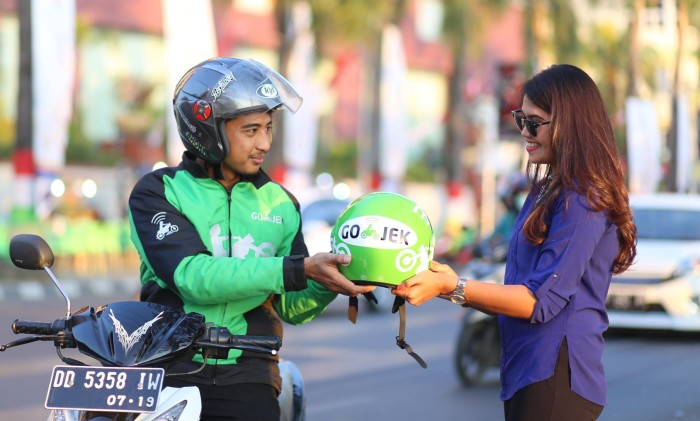 Launched in 2011 in Jakarta, Go-Jek - a play on the local word for motorbike taxis - has evolved from a ride-hailing service to a one-stop app. Image: Marketing-interactive