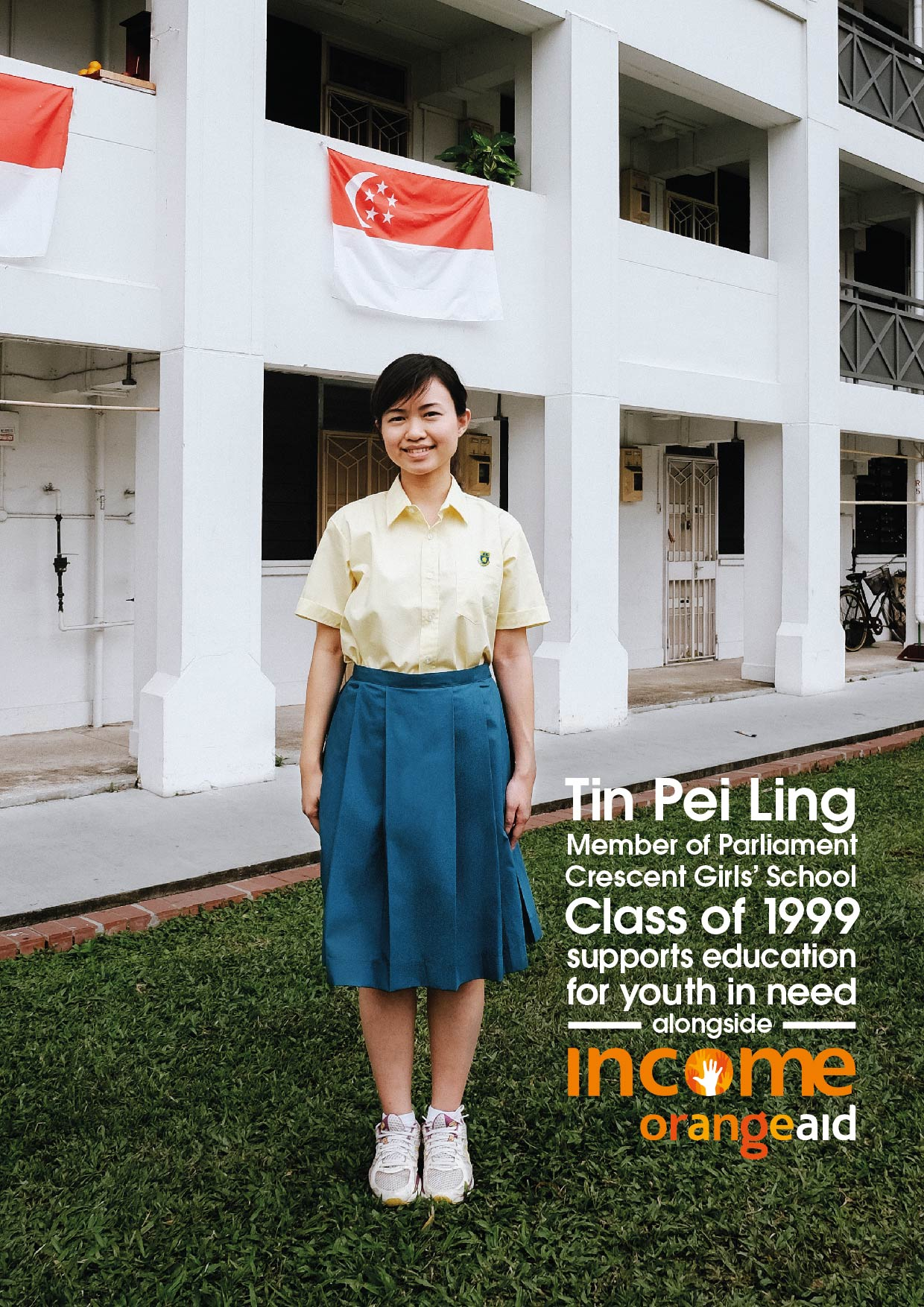 Local personalities squeeze into their old uniforms for NTUC