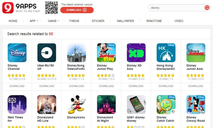 Disney partners with Chinese third-party Android app store