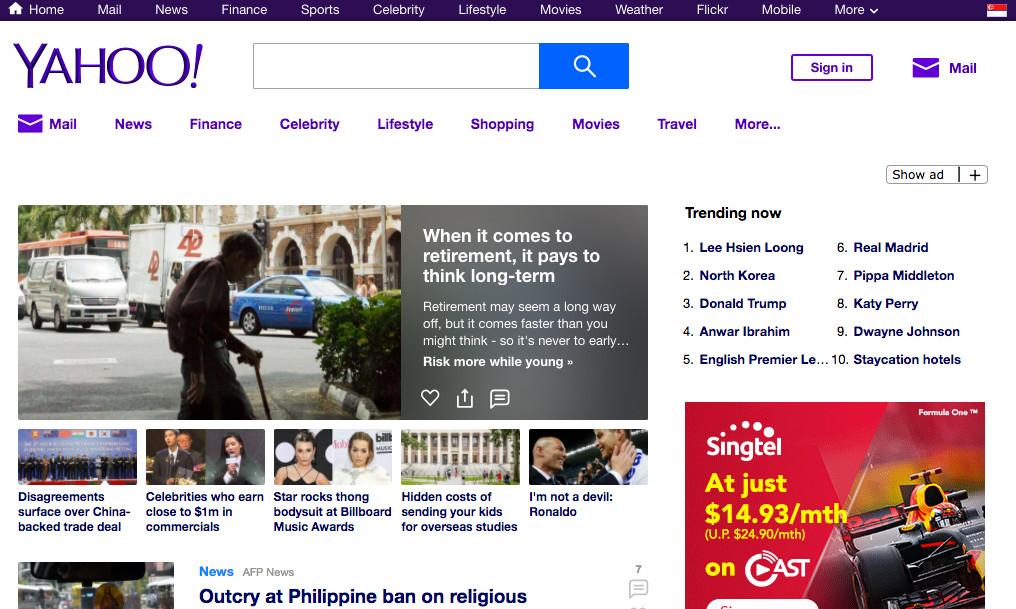 Yahoo revamps Homepage and Yahoo Finance websites