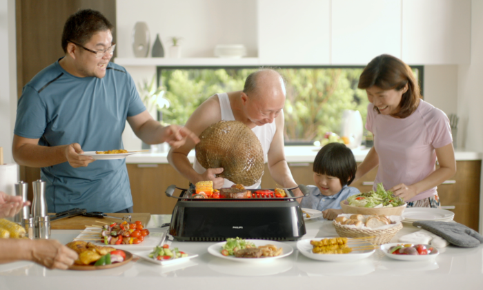 philips fires up with saved by the grill campaign marketing