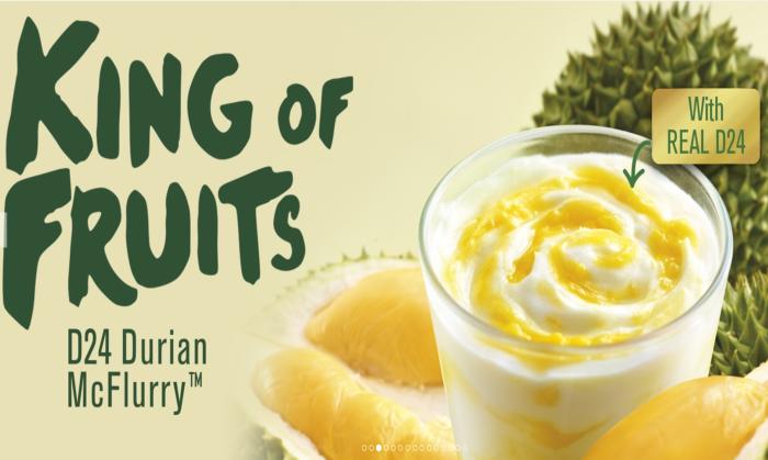 McDonald's Malaysia introduces D24 Durian McFlurry ahead