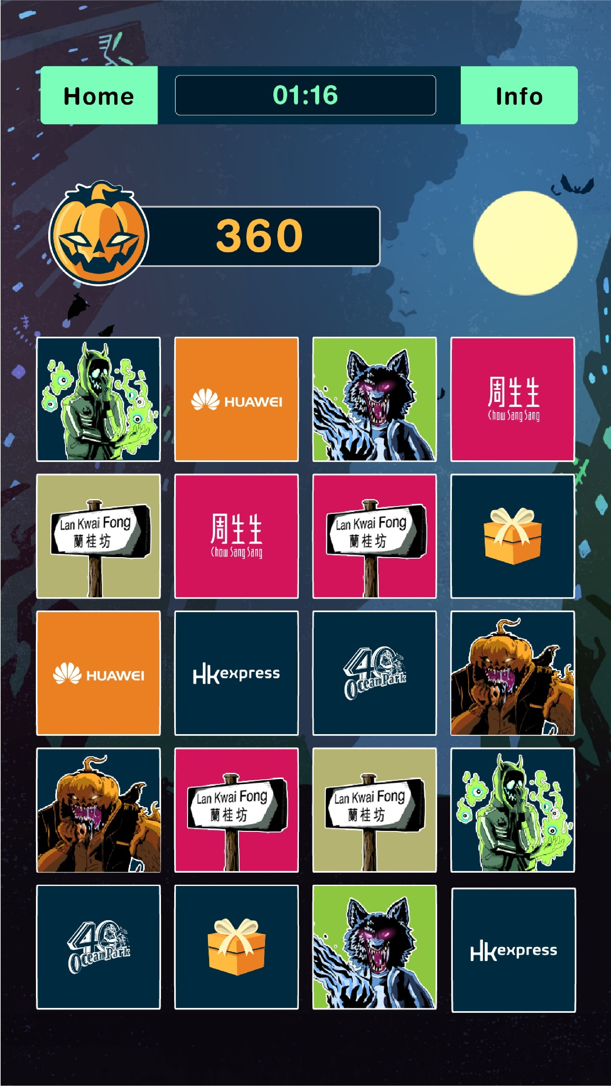 "the epic ""monster mash"" mobile game returns to lkf this halloween"