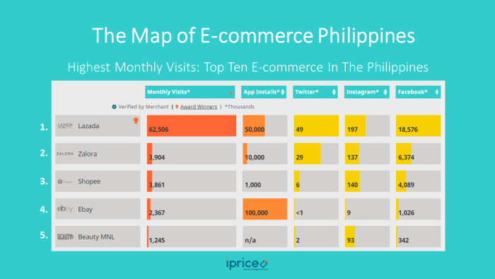 Who's Winning The Philippines' E-commerce Arena: Local Or International Players?