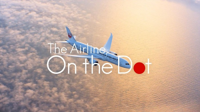 Japan Airlines flaunts new 'On the Dot' global brand message